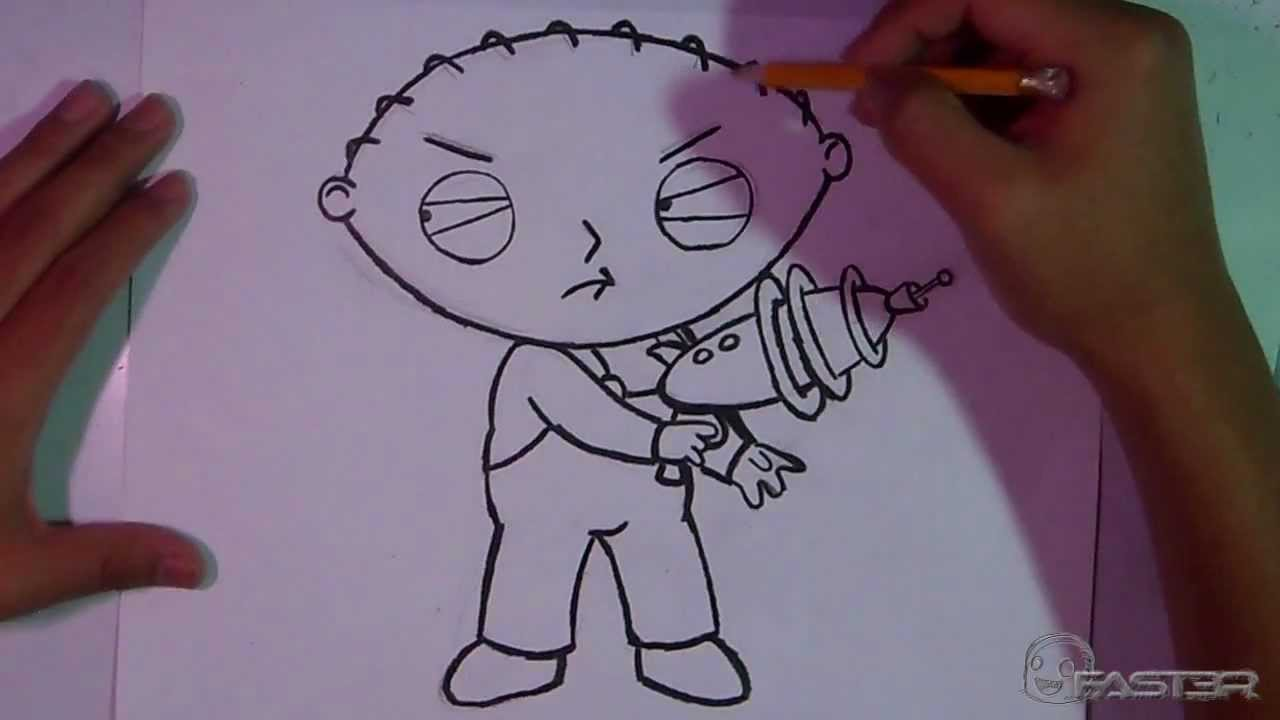 Drawing: Stewie Griffin (Family Guy) [HD] - YouTube