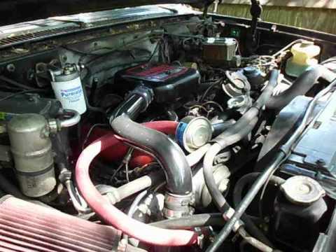 1982 Chevrolet K 5 Blazer Turbo Diesel Cold Start Youtube