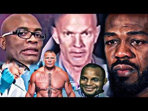UFC 200 - Anderson Silva and Jon Jones...