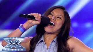 "Ellona Santiago Spreads Her ""Wings"" - THE X FACTOR USA 2013"