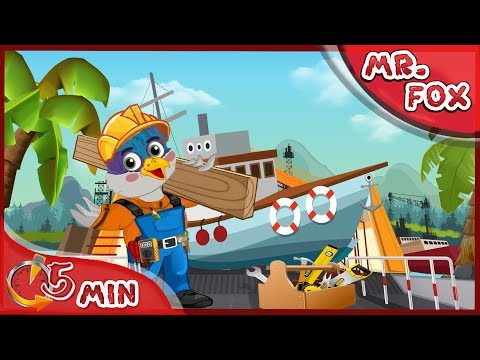 Mr Fox ~ Cruise ship ~ Mr Fox Funny Cartoon for kids - part