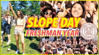 🔥LAST DAY OF COLLEGE VLOG: Freshman Year at Cornell University (SLOPE DAY 2019)   Katie Tracy