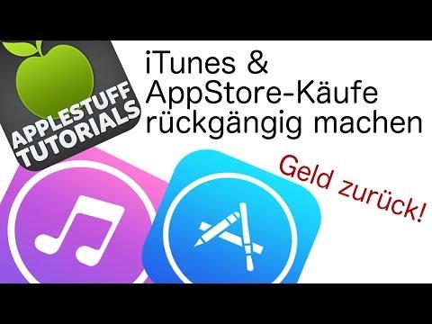 iTunes & AppStore-Käufe rückgängig machen! Geld zurück! (Deutsch, HD)