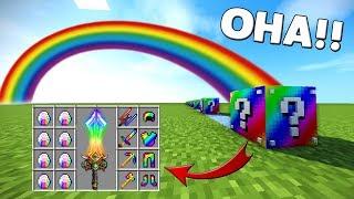 GÖKKUŞAĞI ŞANS BLOKLARI - Minecraft