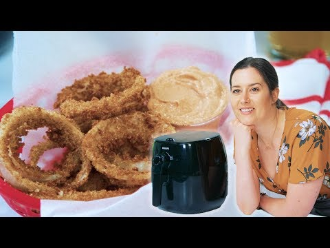 #thenewhealthy Episode 7, Air-Fryer Onion Rings | Cooking Light