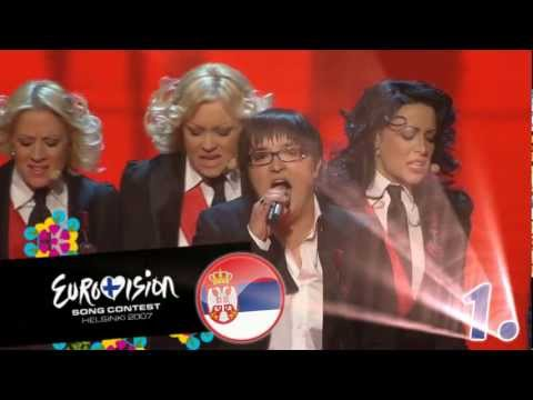 Eurovision 2007: Top 42 Songs