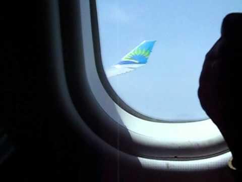 Attérissage en Guadeloupe,Pole Caraibes A330-300 Air Caraibes