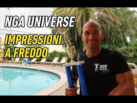 Campione Pesi Medi (fino a 78Kg) NGA Universe 2017 - Impressioni a freddo post-gara