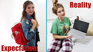 Back To School 2020 EXPECTATIONS Vs REALITY