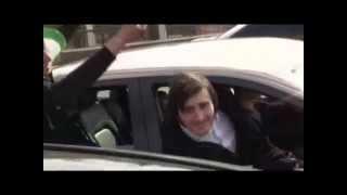 Кавказский автопробег по Москве