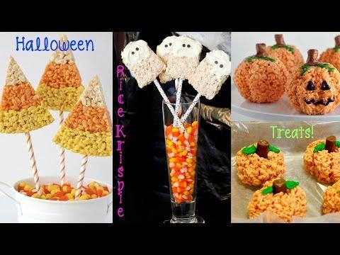 {Recipe Review} Halloween Rice Krispie Treats: Pumpkins, Ghosts, & Candy Corn