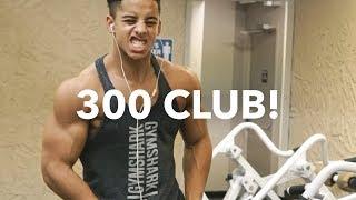 Natural Chest Training // 300 CLUB!