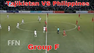 Tajikistan VS Philippines 3-4 ★ AFC Asian Cup 2019 Qualification