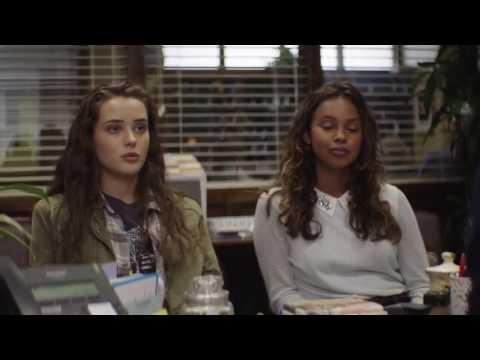 Ханна знакомится с Джессикой. 13 причин, почему. 2 серия