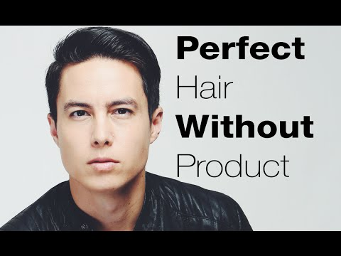 Mens Hairstyle Hacks | Perfect Hair Without Product - YouTube