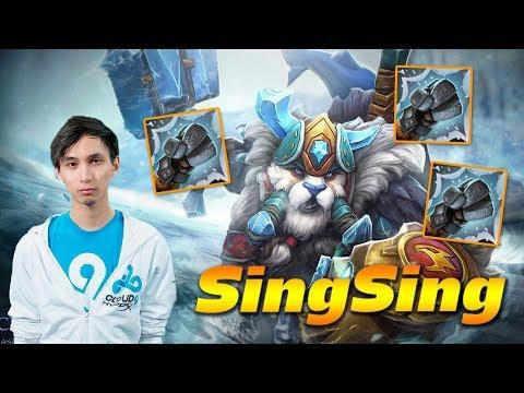 SingSing Tusk [ONE PUNCH MAN] - Dota 2 Pro MMR Gameplay