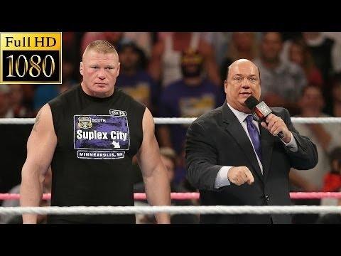 Download WWE Raw 24 October 2016 Full Show - Brock Lesnar Return - WWE Monday Night Raw 10/24/16 Full Show HQ