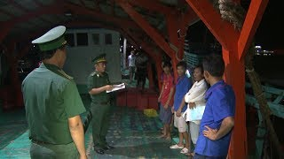 Cà Mau kiên quyết xử lý tàu cá vi phạm vùng biển nước ngoài