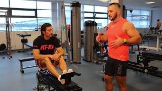 Тренировки с чемпионами. ГРЕБЛЯ