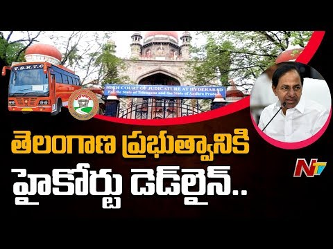 Telangana High Court Serious On Govt Over TSRTC Strike || NTV