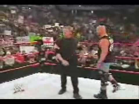 Eric Bischoff vs Vince McMahon (Special Guest Referee Stone Cold)