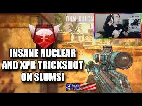 I GOT A NUCLEAR AND HIT A XPR TRICKSHOT ON SLUMS!