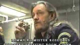 Lemmy  speaks interview pdx 99
