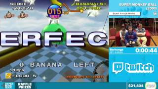 Super Monkey Ball by Barhunga in 18:47 - Awesome Games Done Quick 2016 - Part 4
