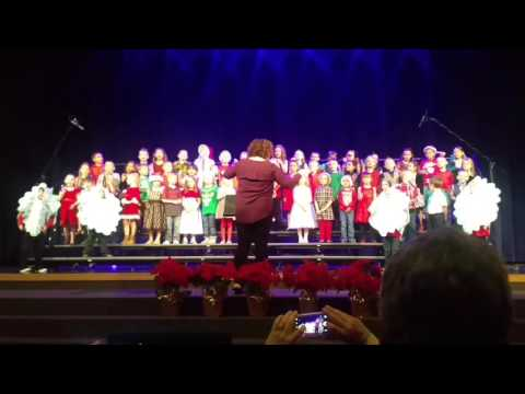 Learning Lodge Academy 2016 Winter Concert - K/1st grades - Jingle Bells