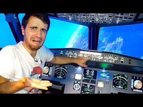TRY NOT TO CRASH THE PLANE CHALLENGE