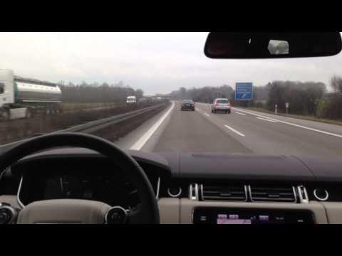 220 km/h on the German autoban