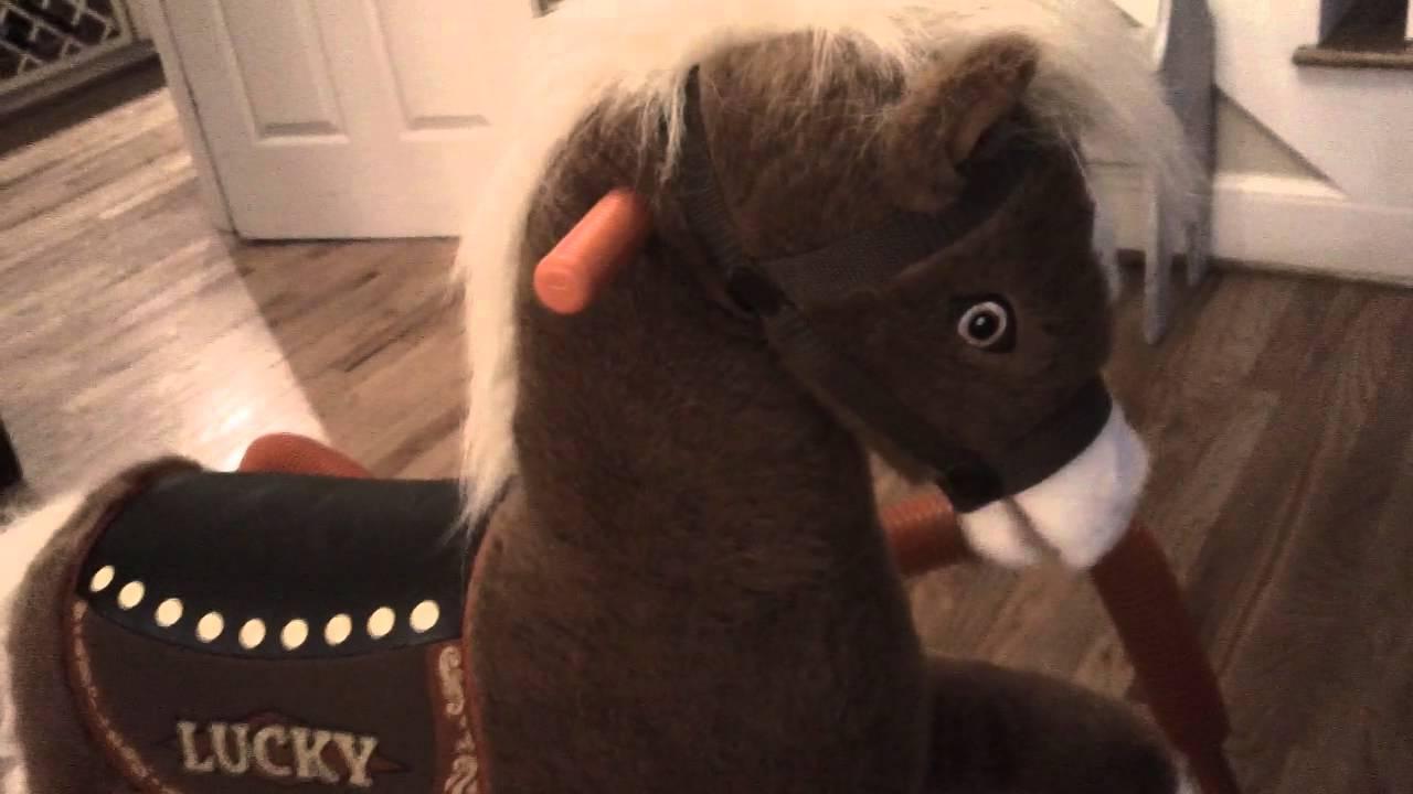Lucky the Rockin\' Rider Horse - YouTube