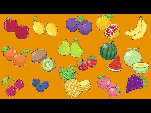 Learn Fruit Vocabulary | Talking Flashcards