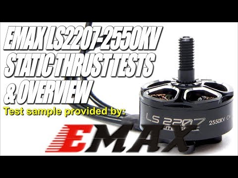 EMAX LS2207-2550KV  Light & Powerful - All You Could Ever Want!