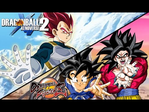 SSG Vegeta Confirmed For DB Xenoverse 2! & Kid Goku GT SS4 Transformation Confirmed For DB FighterZ!
