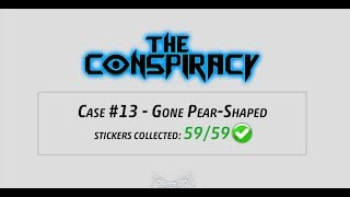 Criminal Case - The Conspiracy, Case 13 - Gone Pear-Shaped