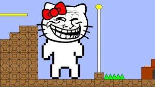 Как пройти cat Mario за пять минут прохождение полностью