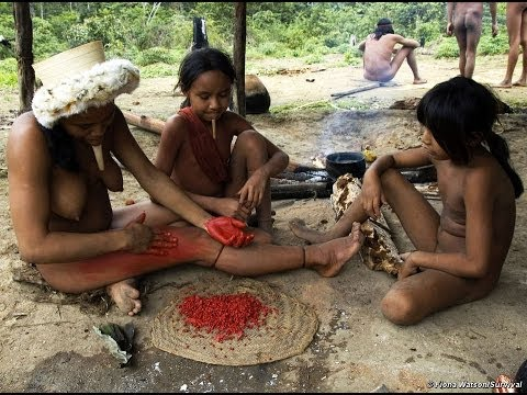 Tribes of Amazon jungles women Dance Festival - National Geographic Documentary Films
