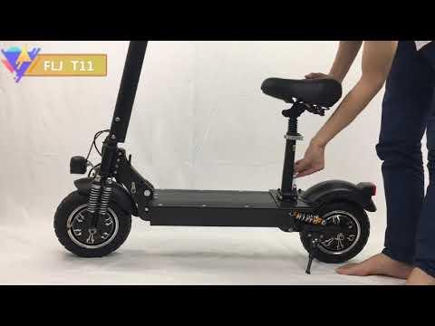 FLJ 2400 Вт Электрический скутер для взрослых с сиденьем складной Ховербор