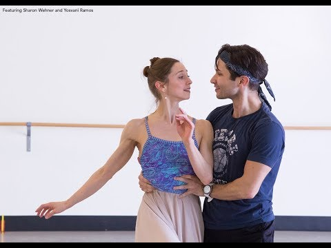 Sharon Wehner and Yosvani Ramos on Dancing Romeo and Juliet