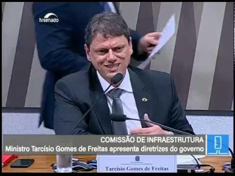 CI - Debate com o ministro de Infraestrutura, Tarcísio Freitas