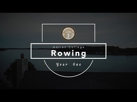 Adrian College Rowing year one (Fall 2018)