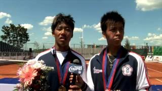 [世大運] 2009網球男雙易楚寰與李欣翰摘下金牌