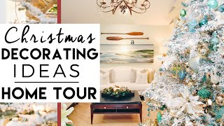 Christmas Decorating Home Tour - Winter Wonderland