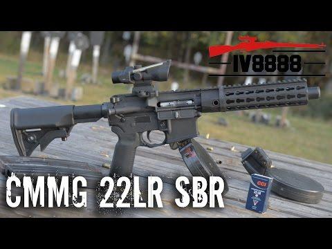 CMMG 22LR SBR