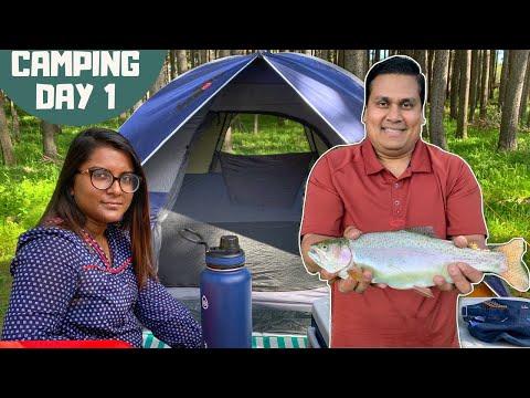 Fishing At Loch Leven | Cypress Hills Interprovincial Park - Saskatchewan | CAMPING DAY 1