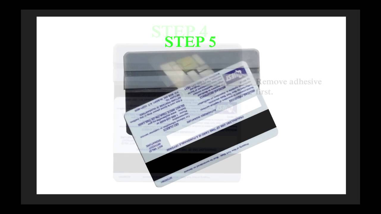 Ebt Card Veneer Instructional Video