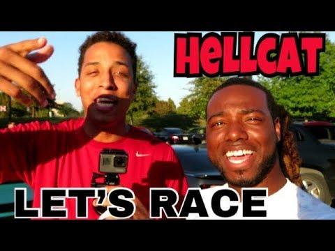 HEADING TO HOUSTON TO MEET TALL GUY CAR REVIEWS - HELLCAT!!!