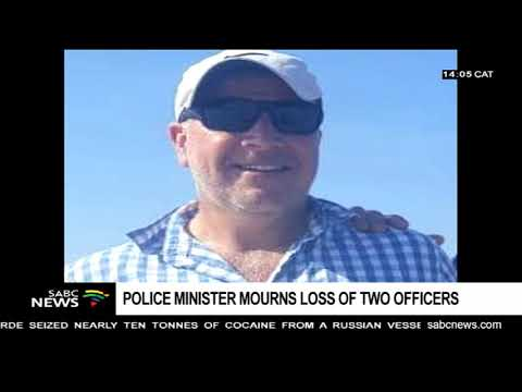 Police Minister, Bheki Cele mourns loss of 2 police officers