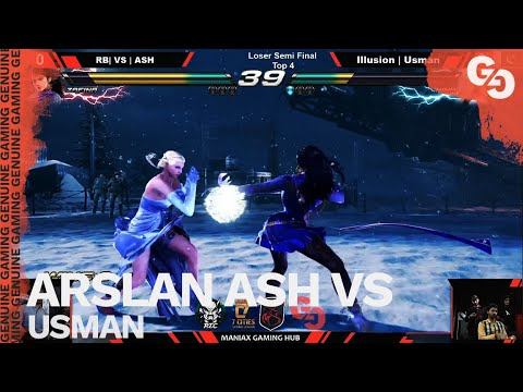 ARSLAN ASH IS A GOD // Arslan Ash (Zafina) Vs Usman (Nina) // FT2